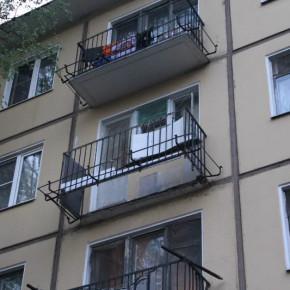 Обрушение балкона на Новочеркасском 30: пострадала пенсионерка