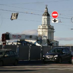Закрытия Дворцового моста по выходным