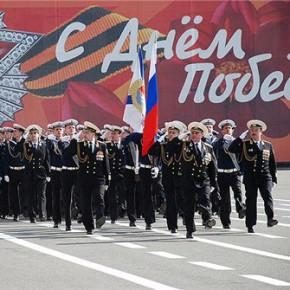В Петербурге проходит генеральная репетиция парада 9 мая