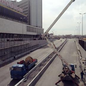 Открытие движения по Пироговской набережной и Сампсониевскому мосту состоится в срок