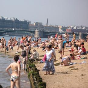 25 официальных пляжей Санкт-Петербурга на сезон 2019