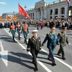Петербург отпраздновал День Победы