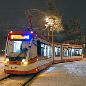 Новые трамваи в Петербурге будут закуплены на федеральные средства