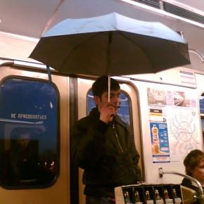 Из-за дождливой погоды ночное метро поставило антирекорд