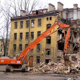 В Петербурге на снос любых домов выше 3 этажей потребуют разрешение
