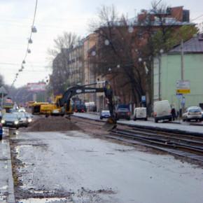 Почти 3 километра проспекта Обуховской Обороны закроют на ремонт до ноября