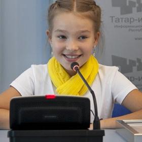 Победителем российского отборочного тура Детского Евровидения-2013 стала девочка из Казани