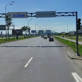 Ремонт Пулковского шоссе продлится с 8 августа по 3 сентября
