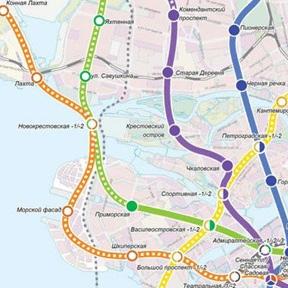 Строительство станций метро