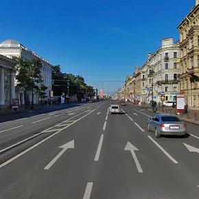Невский проспект закрыт на выходные от Садовой до Литейного