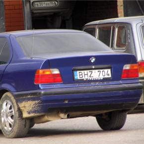 Машин с литовскими номерами в Петербурге скоро станет меньше