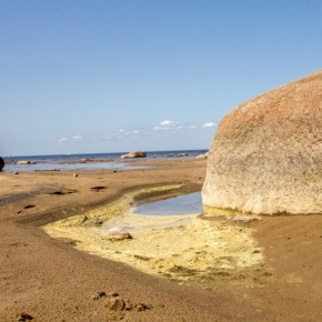 На Финском заливе появится пляж с очищаемой водой