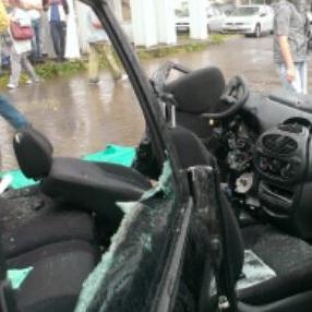 В ДТП на Наличной погиб пожилой водитель