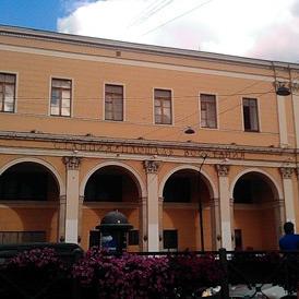 Выход на Московский вокзал со станции метро