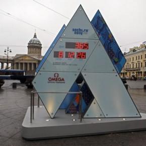 Олимпийские часы на Малой Конюшенной не дожили до 2014 года