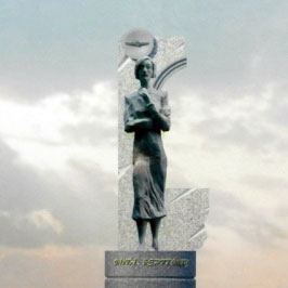 Памятник Ольге Берггольц появится в районе метро Елизаровская