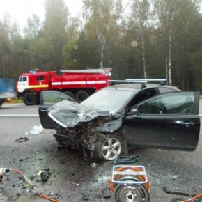 В ДТП под Тосно с участием маршрутки погибли пятеро