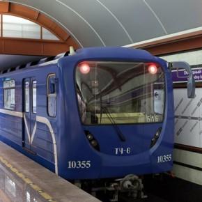 В Петербурге появились новые вагоны метро с откидными сидениями