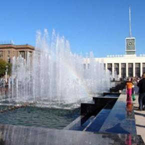 Сезон фонтанов в Петербурге начнут закрывать с 1 октября