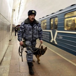 В Петербурге на станции метро
