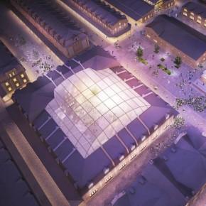 Реконструкция Апраксина двора получила креативное лицо