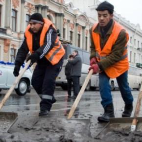 Смольный насчитал в Петербурге всего 250 тысяч гастарбайтеров