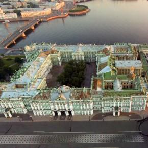 На экскурсию по крыше Эрмитажа можно будет сходить официально