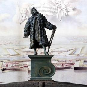 В Петербурге установили, но не открыли памятник Доменико Трезини