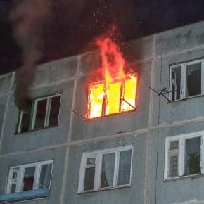 При пожаре в девятиэтажке на улице Стойкости погиб мужчина