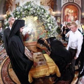 Дары волхвов пробудут в Петербурге в Новодевичьем монастыре три дня