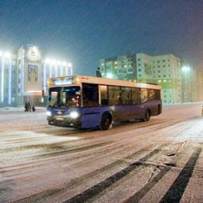 На зиму-2014 ночные автобусы отменили