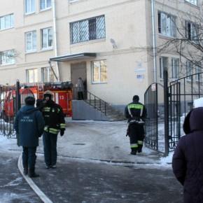 При пожаре в интернате на Большой Пороховской эвакуировали 74 ребенка