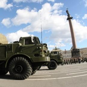 В рамках мероприятий 27 января на Дворцовой выставят военную технику