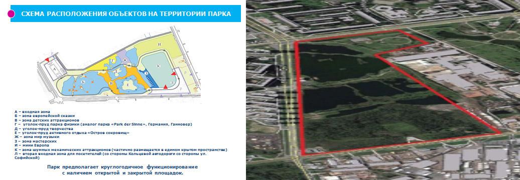 парк развлечений в Купчино Петербург