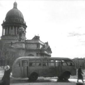 В петербургских автобусах расскажут о жизни блокадного Ленинграда