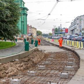 Площадь Стачек закрывается на 4-месячный ремонт, открытие - 30 июня