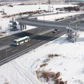 На Московском шоссе обрушилась строящаяся развязка, есть жертвы