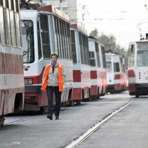 Два трамвая столкнулись в Петербурге на проспекте Стачек