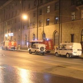 В Петербурге при пожаре в бизнес-центре