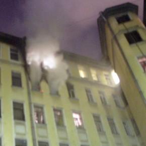 При пожаре в коммуналке на Херсонской улице погибли двое