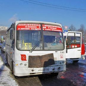 В ДТП с автобусом и маршруткой на Пискаревском пострадали 6 человек