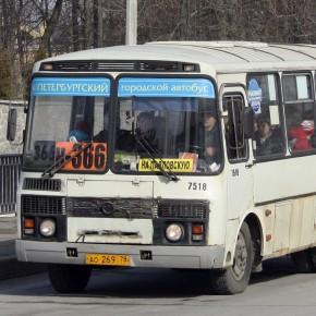 В Колпино все маршрутки заменят на социальные автобусы по 25 рублей