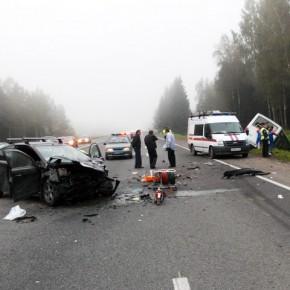 Самые опасные дороги России - в Ленинградской области