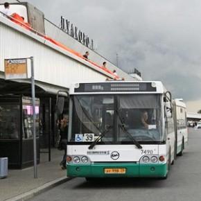 Новый автобус до Пулково от