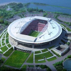 Строительство стадиона на Крестовском острове: начат монтаж инженерных сетей