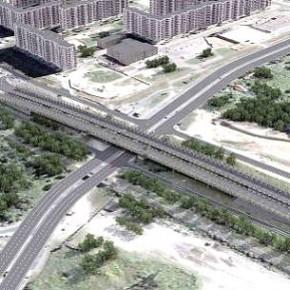 Строительство продолжения Суздальского проспекта завершат в июле 2015-го