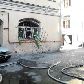 Взрыв газа в центре Петербурга на 7-й Советской улице повредил 4 квартиры