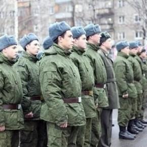 За осенний призыв-2014 в армию направят более 150 тысяч человек