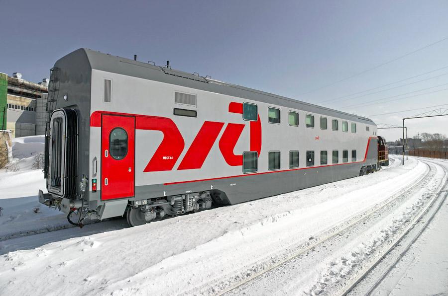 Двухэтажный поезд Москва – Петербург выйдет в рейс на замену плацкарту