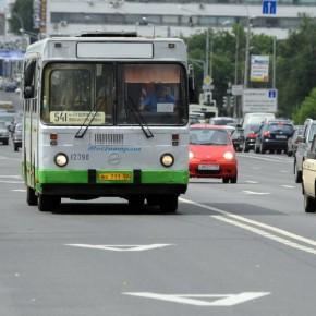 Выделенная полоса для автобусов на Пулковском шоссе появится в течение года